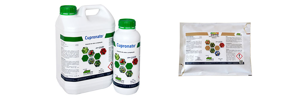 Cupronate and Cupro Activ, efficient solutions for copper treatments in citrus