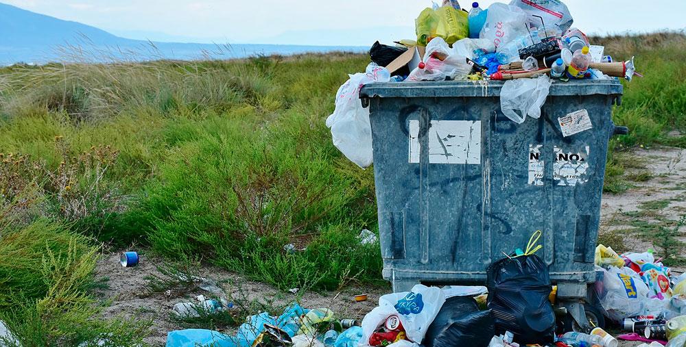 Contaminación por plásticos de un solo