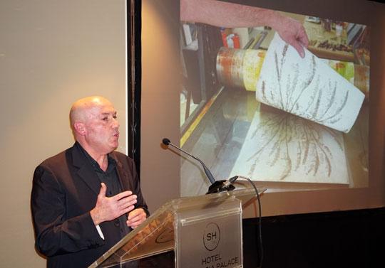 Artista pintor, grabador y creador plástico Gregori Valero