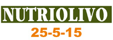 solid soluble foliar fertilizer Nutriolivo 25-5-15